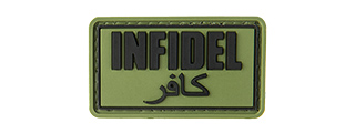 INFIDEL PVC MORALE PATCH (OD GREEN)