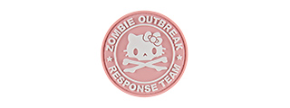 G-FORCE ZOMBIE OUTBREAK RESPONSE TEAM MORALE PATCH (PINK)