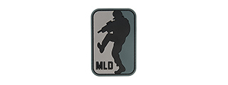 G-FORCE MLD MAJOR LEAGUE DOORKICKER PVC MORALE PATCH (BLACK)