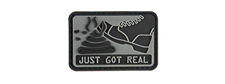 G-FORCE SH*T JUST GOT REAL PVC MORALE PATCH