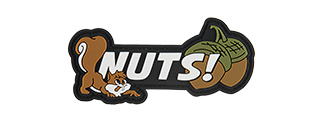 G-FORCE SQUIRREL NUTS PVC MORALE PATCH
