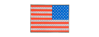 G-FORCE AMERICAN FLAG REFLECTIVE MORALE PATCH [RIGHT SIDE]