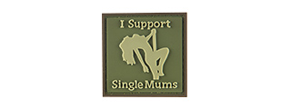 G-FORCE I SUPPORT SINGLE MUMS PVC MORALE PATCH