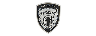 G-FORCE MEDAL OF HONOR : MOH GRIZZLY PVC MORALE PATCH