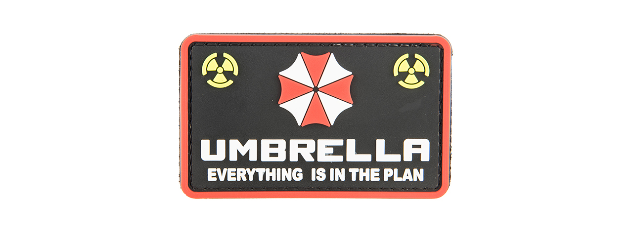 G-FORCE UMBRELLA CORP. PVC MORALE PATCH