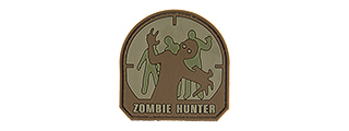 G-FORCE ZOMBIE HUNTER PVC MORALE - SMALL (BROWN)