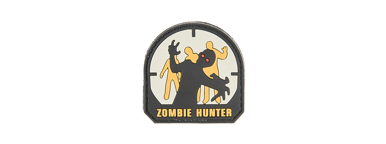 G-FORCE ZOMBIE HUNTER PVC MORALE PATCH