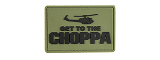 G-FORCE GET TO THE CHOPPA PVC MORALE PATCH