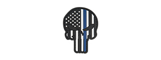 G-FORCE PUNISHER US FLAG THIN BLUE LINE