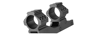 RANGER ARMORY ALUMINUM 30MM SCOPE MOUNT W/ PICATINNY MOUNT (BLACK)