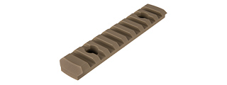 RANGER ARMORY 9-SLOT ALUMINUM PICATINNY RAIL SECTION FOR M-LOK (TAN)