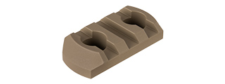 RANGER ARMORY 3-SLOT ALUMINUM PICATINNY RAIL SECTION FOR M-LOK (TAN)