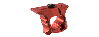 RANGER ARMORY ALUMINUM SKELETONIZED M-LOK HAND STOP (RED)