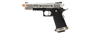 "WE Tech Hi-Capa 5.1 ""T-Rex"" Competiton Gas Blowback Pistol (SILVER)"