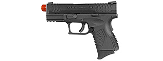 WE Tech X-Tactical 3.8 Compact Gas Blowback GBB Airsoft Pistol (BLACK)