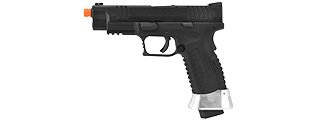 WE-Tech X-Tactical 3.8 Compact Gas Blowback Airsoft Pistol (BLACK)