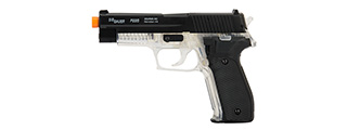 Sig Sauer P226 Spring Airsoft Pistol (BLACK / CLEAR)
