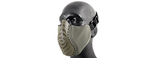 G-Force Ventilated Discreet Half Face Mask (OLIVE DRAB)