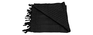Lancer Tactical Multi-Purpose Shemagh Face Head Wrap (BLACK)