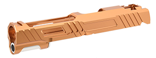 "Airsoft Masterpiece Custom ""HAWK"" Standard Slide for Hi-Capa/1911 5.1 (ORANGE)"
