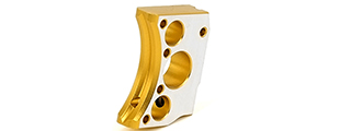 Airsoft Masterpiece Aluminum Trigger Type 12 for Hi-Capa Pistols (GOLD TWO-TONE)