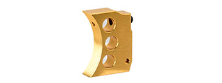 Airsoft Masterpiece Aluminum Trigger Type 4 for Hi-Capa Pistols (GOLD)