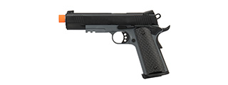 Army Armament Full Metal R28 1911 Gas Blowback Airsoft Pistol (BLACK)