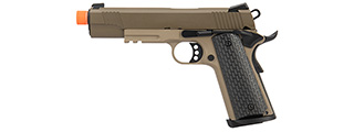 Army Armament Full Metal R28 1911 Gas Blowback Airsoft Pistol (TAN)