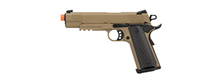 Army Armament Full Metal R28 1911 Desert Warrior GBB Airsoft Pistol (TAN)