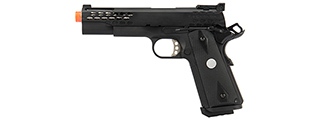 Army Armament Full Metal R30 1911 Gas Blowback Airsoft Pistol (BLACK)