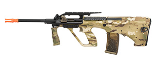 Army Armament Polymer AUG Civilian AEG Airsoft Rifle w/ Top Rail (Multicam)