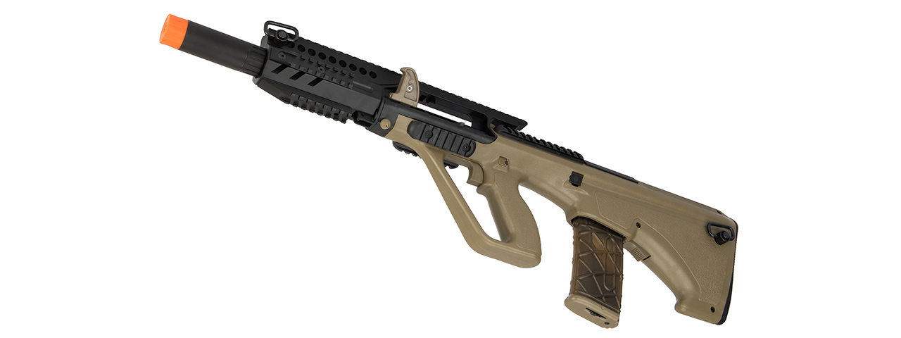 Army Armament AUG A3 Polymer Carbine Length Airsoft AEG Rifle (TAN)