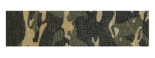 ASG Camouflage Stretch Adhesive Wrap (WOODLAND)