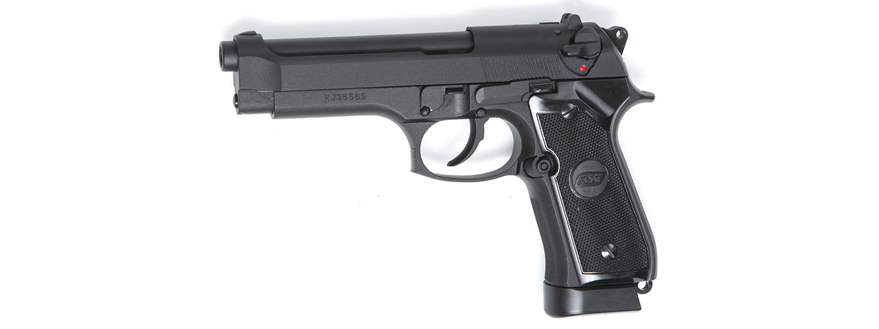 ASG X9 Classic CO2 Blowback Air Pistol Airgun (BLACK)
