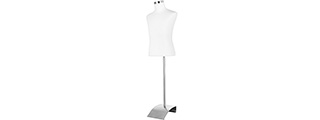 Lancer Tactical Mannequin w/ Stand (WHITE)