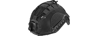 Lancer Tactical BUMP Helmet Cover [Large] (BLACK)