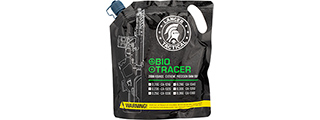 Lancer Tactical 0.25g Airsoft Biodegradable 6mm Tracer BBs [2000rds] (GREEN)