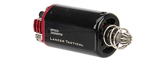 Lancer Tactical Short Type High Speed AEG Motor Version 2 [23,500 RPM] (RED/BLACK)