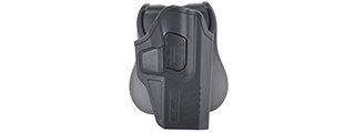 Cytac Concealable Hard Shell Holster for Glock [G19, G23, G21] (BLACK)