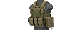 Rapid Response Maritime MOLLE Plate Carrier [1000D] (OD GREEN)