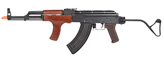 E&L Airsoft AK AIMS Platinum AEG Airsoft Rifle w/ Wood Furniture (BLACK)