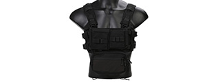 Emerson Gear Low Profile Modular Chest Rig System- BLACK