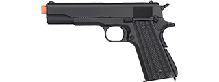 Golden Eagle IMF 3311 1911A1 Gas Blowback Airsoft Pistol (BLACK)
