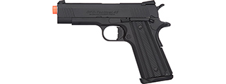 Golden Eagle 3329 OPS-Tactical 1911 Hi-Capa Gas Blowback Airsoft Pistol (BLACK)
