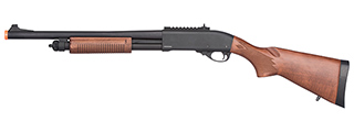 Golden Eagle M870 3/6-Shot Pump Action Gas Airsoft Shotgun (WOOD)