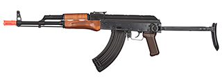 GHK AK GKMS Gas Blowback AKMS Airsoft Rifle (WOOD)
