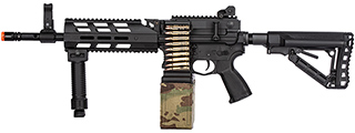 G&G CM16 LMG Airsoft Light Machine Gun AEG (BLACK)