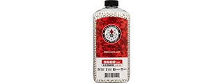 G&G 0.20g Precision 6mm Airsoft BBs [5600rd Bottle] (WHITE)