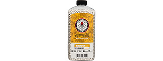 G&G 0.25g Precision 6mm Airsoft BBs [5600rd Bottle] (WHITE)