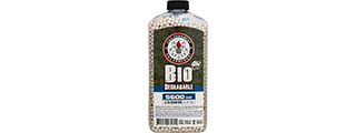 G&G 0.28g Biodegradable 6mm Airsoft BBs [5600rd Bottle] (WHITE)